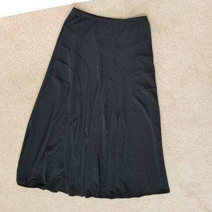 Amy Byer skirt Medium 10/12 black maxi pull on